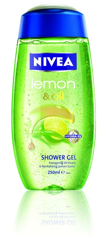 NIVEA-LEMON GRASS & OIL Shower Gel